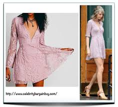 taylor swift in u0027reign over me lace dress u0027 from free people