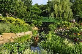 Overland Park Botanical Garden The Monet Garden Overland Park Arboretum And Botanical Gardens