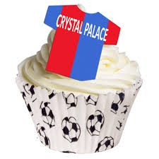 football cake toppers 12 edible football team cake toppers palace cupcakes