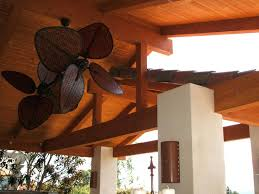 outdoor patio ceiling fans outdoor fans with lights image of rustic outdoor patio ceiling fans