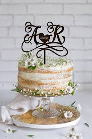 wedding cake toppers initials wedding cake topper initials cake topper names personalized