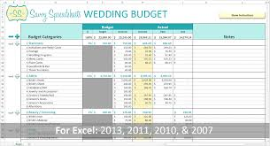 Wedding Invitation Excel Template Branded Wedding Budgets Savvy Spreadsheets
