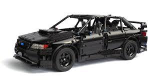 lego technic car lego technic subaru impreza wrx sti youtube
