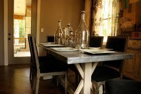 custom zinc top trestle table by kidd epps art shop custommade com