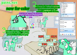 how to use mlp pony base paint net part 3 by theyuo on