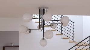Atom Pendant Light Beautiful Atom L 6 Atom Pendant L In Clear By Nuevo