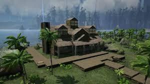 house design building games ark survival evolved huge house design video games pinterest