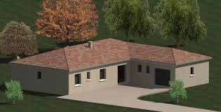 plan de maison 4 chambres plain pied construction 86 fr plan maison plain pied de type 6