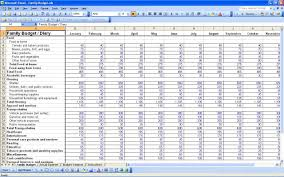 How To Make Budget Spreadsheet 8 House Hold Budget Spreadsheet Templates Excel Templates