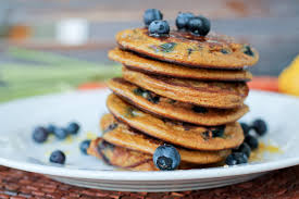 pancakes carrot blueberry and lemon the primal desire