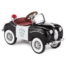 1949 gillham police car kiddie car classics collectible toy