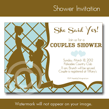 Bridal Shower Invitations Couples Wedding Shower Invitations
