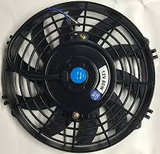 oil cooler with fan amazon com pro comp 9 inch electric automotive radiator