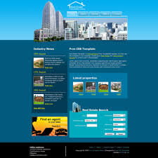 free website templates dreamweaver 25 free premium real estate html website templates land agent demo download the land agent mobile web template