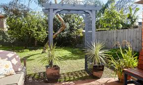 wedding arches bunnings how to build a d i y timber garden arbour bunnings warehouse