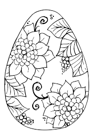 coloring pages surprising easter egg coloring pages easter
