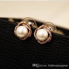 top earings 2018 top quality small earrings for women luxury korean