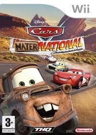 disney monster truck videos disney u2022pixar cars mater national championship 2007 wii box
