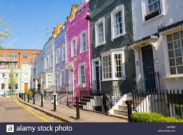 British Houses Houses In South Kensington London Stock Photos U0026 Houses In South