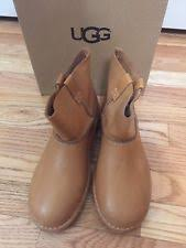 s ugg australia mini leather boots ugg australia flat 0 to 1 2 in leather 9 boots for ebay