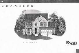 ryan homes chandler model floor plan home plan