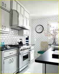 white subway tile backsplash with gray grout lovely perfect