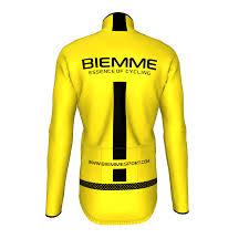 yellow waterproof cycling jacket jampa 2 lightweight waterproof jacket biemme sport uk
