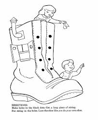 9 best nursery rhyme old woman who lived in a shoe images on