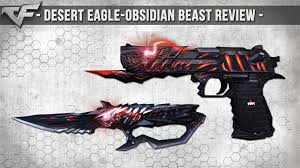 obsidian kitchen knives crossfire desert eagle obsidian beast born beast review