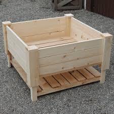 highlander raised wooden garden planters 61