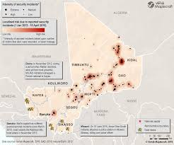 Map Of Mali Security Threats Unable To Take Shine Off Mali Gold Mining Com