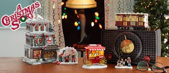 a christmas story leg l lights a christmas story village villages department 56
