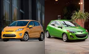 mazda c2 ford fiesta vs mazda2 full comparison test