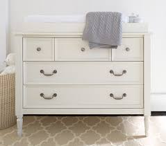 Using A Dresser As A Changing Table Blythe Dresser Topper Set Pottery Barn