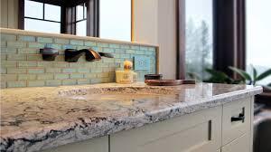 bathroom elegant kitchen design with black granite countertop and