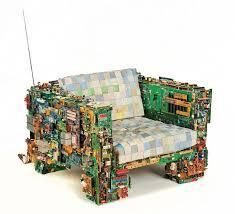 Arm Chair Survivalist Design Ideas Cyberpunk Furniture For The Environmentalist