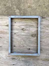 rustic distressed solid wood frame 11x14
