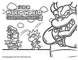 mario brothers coloring page inside super world pages eson me