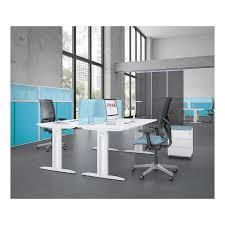 bureau carré bureau idol carré 80 cm personnalisable pieds en i réglable en