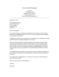 sample job cover letter application good example of a cover letter