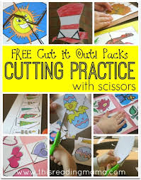 12 best scissor skills images on pinterest cutting practice