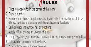 white elephant gift exchange rules and printables white elephant