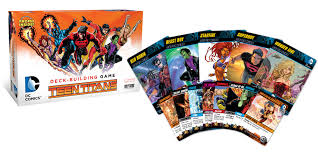 dc comics deck building game teen titans crossover pack 2