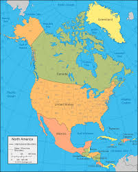 anerica map america map and satellite image