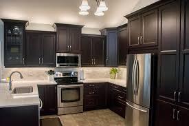 modern dark kitchen cabinets kitchen renovation gallery custom cabinets kitchens inc