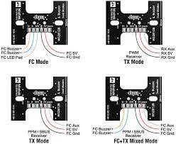 matek rgb led tail light u0026 buzzer with fc tx control flying tech