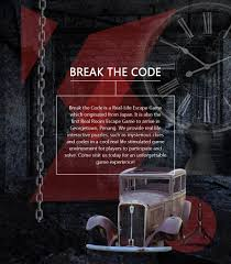 breakthecode is a real life escape game which originated from