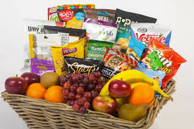 snack basket creative welcome basket ideas for overnight guests