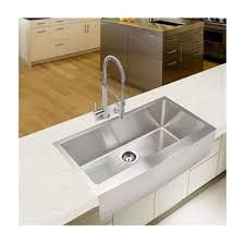 Single Kitchen Sinks Stahl Handmade Large Single Farmhouse Kitchen Sink Sam S