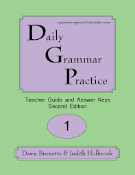daily grammar practice sample materials for english grades 1 12